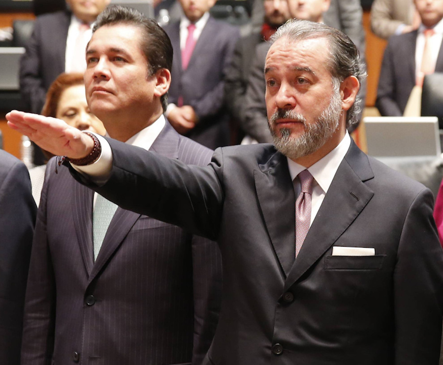 Raúl Cervantes, PGR