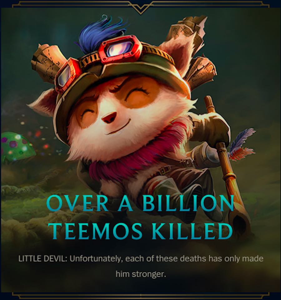 League of Legends - Teemo