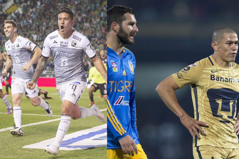 León casi está en semifinales y Tigres no puede contra Pumas en la Ida de los Cuartos