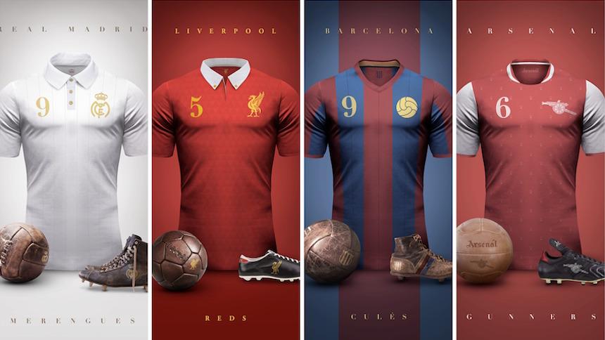 Checa estas joyas de jerseys vintage de la Premier, La Liga y más