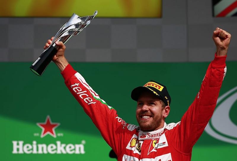 Después de todo el rollo en el GP México, la FIA no castigará a Sebastian Vettel