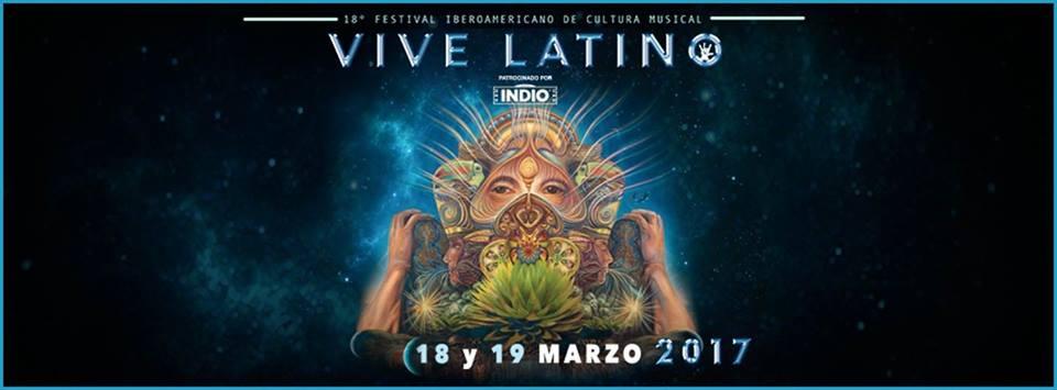 ¡Ya está aquí el cartel POR DÍA del Vive Latino 2017!