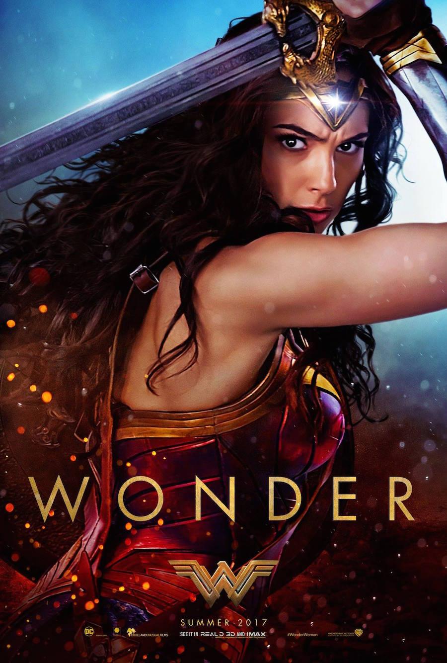 Póster - Película de Wonder Woman