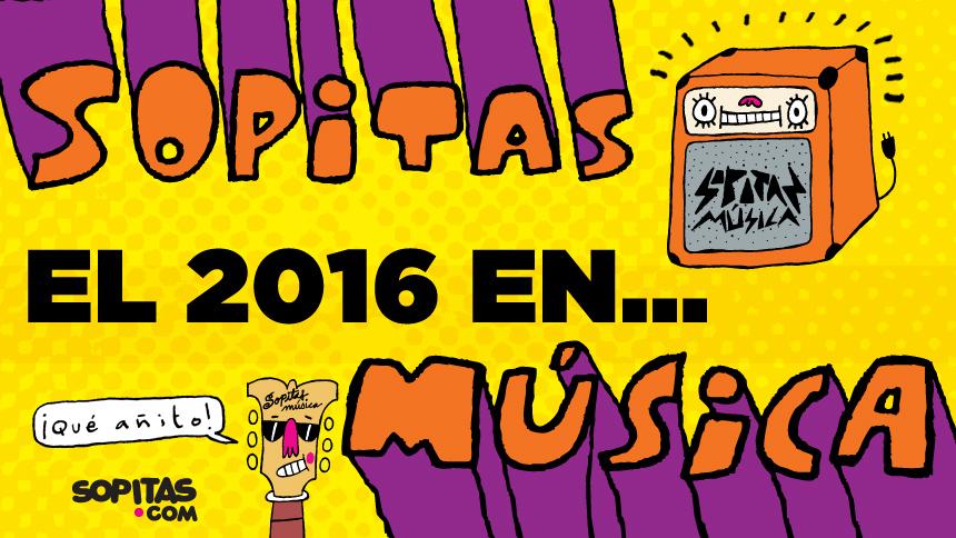 Los 20 discos que nos acompañaron durante el 2016