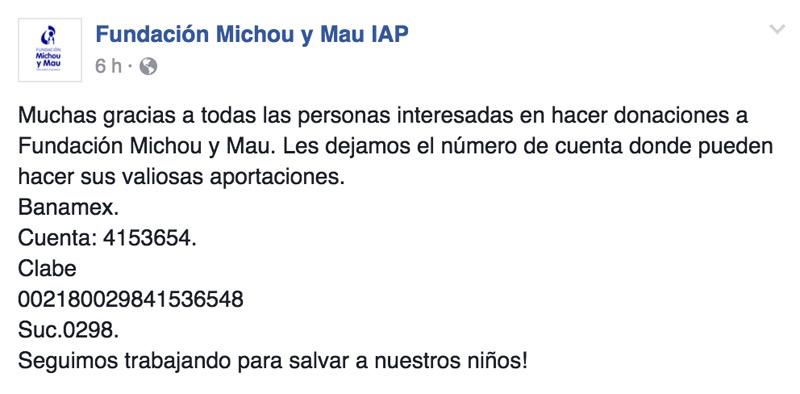 Fundacion Michou y Mau