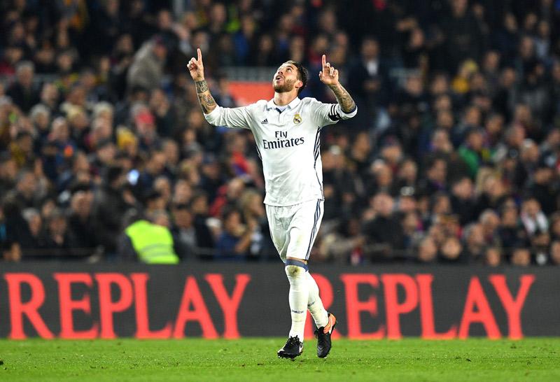 ¡Clásico! Ramos rescata al Real Madrid de la derrota en Barcelona