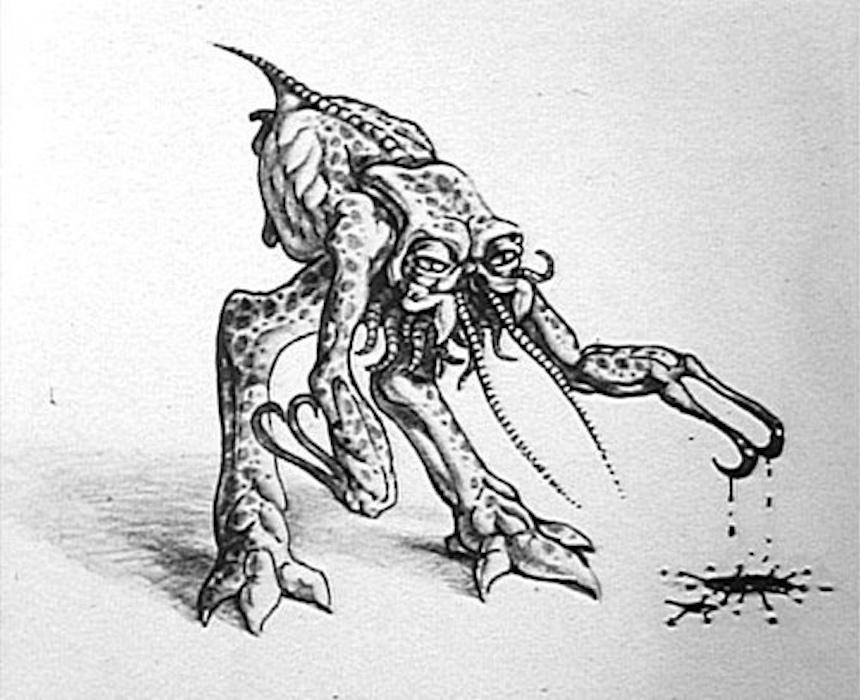 Alien Primeros diseños