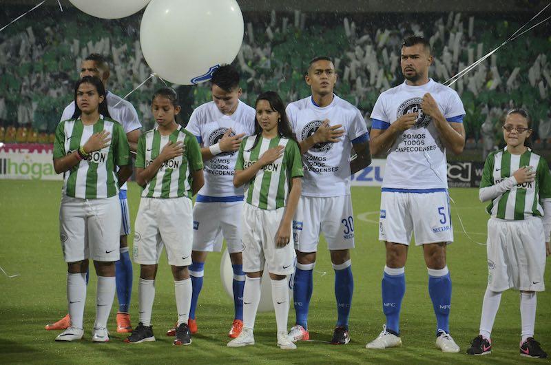 Atlético Nacional honrará la memoria de Chapecoense en el Mundial de Clubes