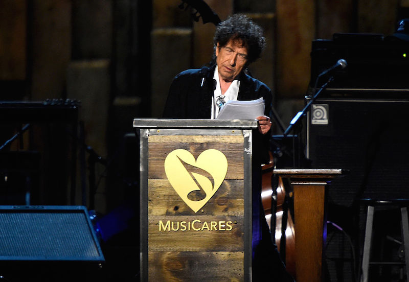 El discurso de Bob Dylan tras ganar el premio Nobel de literatura