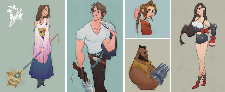 Personajes - Final Fantasy