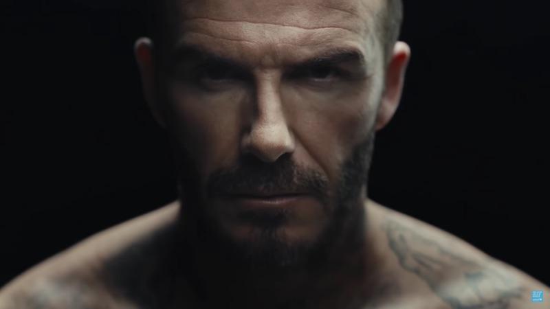¡Los tatuajes de David Beckham cobran vida contra el maltrato infantil!