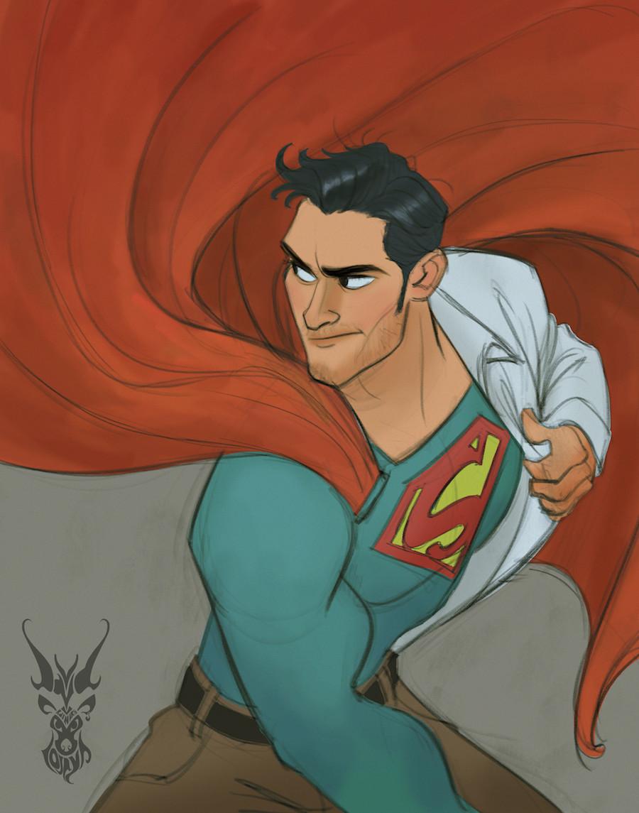 Dibujo - Superman