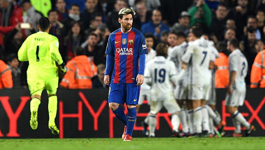Galería: las mejores imágenes de El Clásico entre Barcelona y Real Madrid
