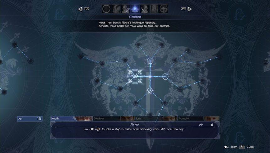 Final Fantasy XV Reseña 3