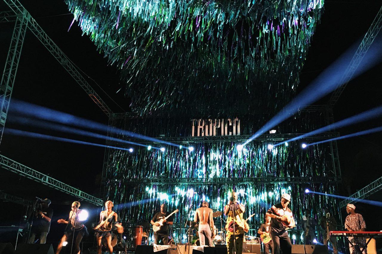 """""""Los problemas nos hacen uno…"""" – Seun Kuti en el Festival Tropico"""