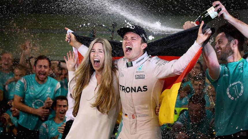 Nico Rosberg repitiendo la historia de James Hunt