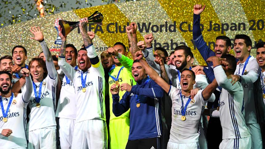 Real madrid es campe n del mundial de clubes - Tarimas del mundo madrid ...