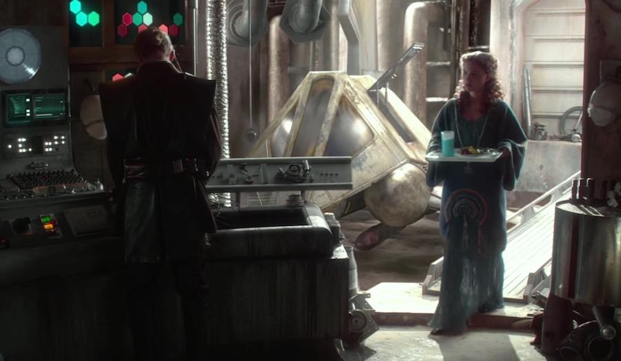 Leche azul en Star Wars