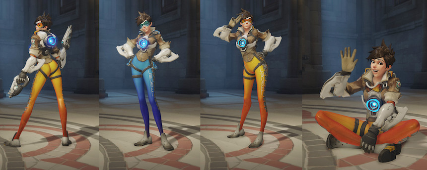 Tracer Pose