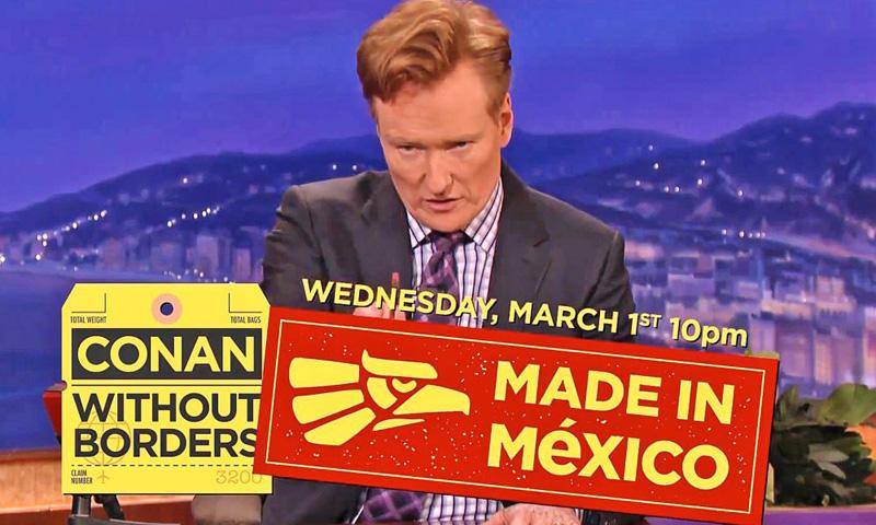 Conan O Brien En Mexico
