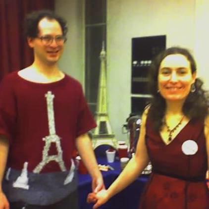 Genio teje suéteres en París