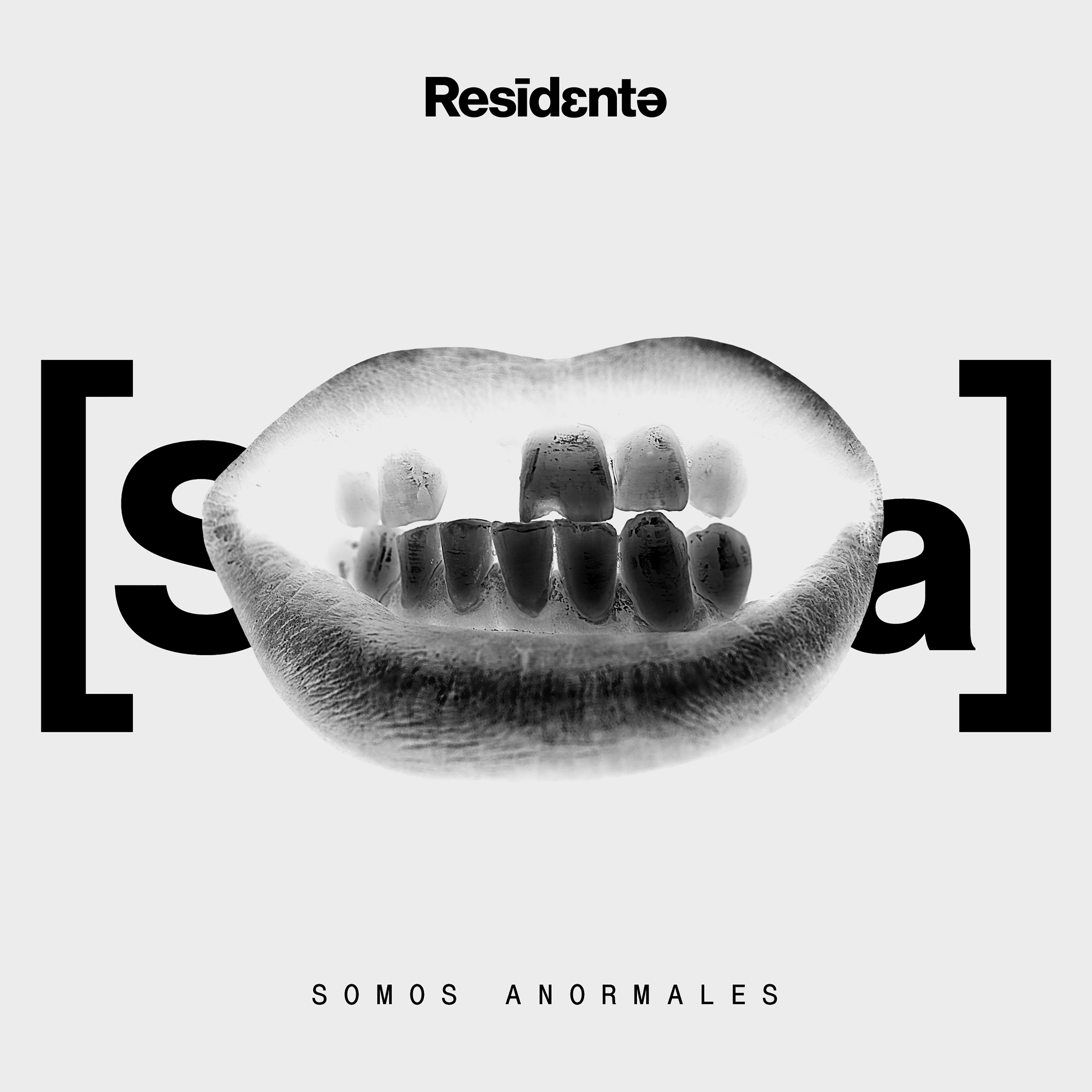 Residente_Somos Anormales_Single Cover