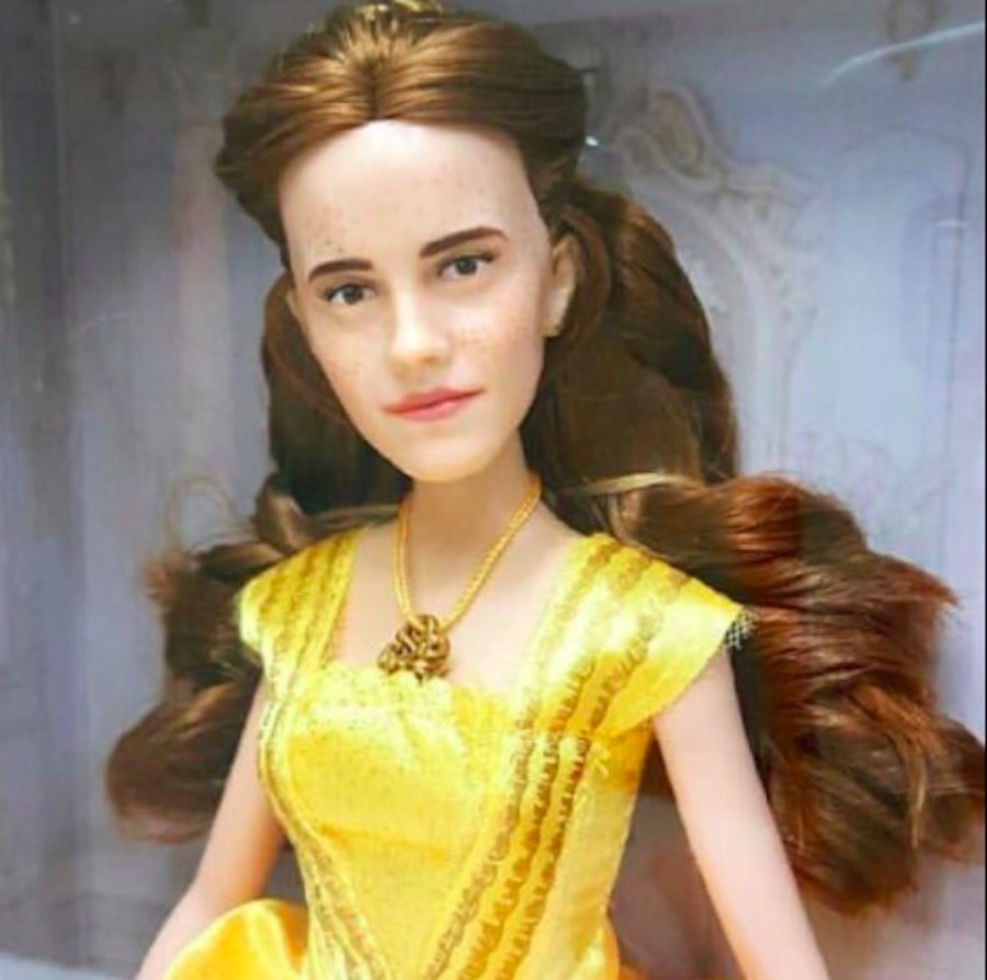 Muñeca fea de Emma Watson