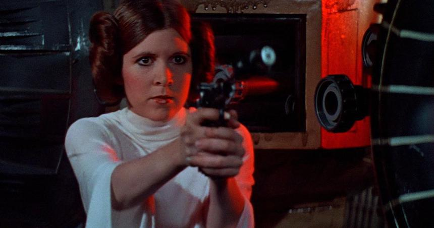 Carrie Fisher como Leia Organa