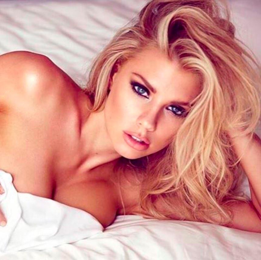 La guapa Charlotte McKinney