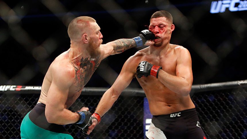 La UFC se vuelve mucho más brutal este 2017