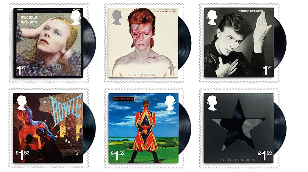 Correo postal Británico honrará a David Bowie