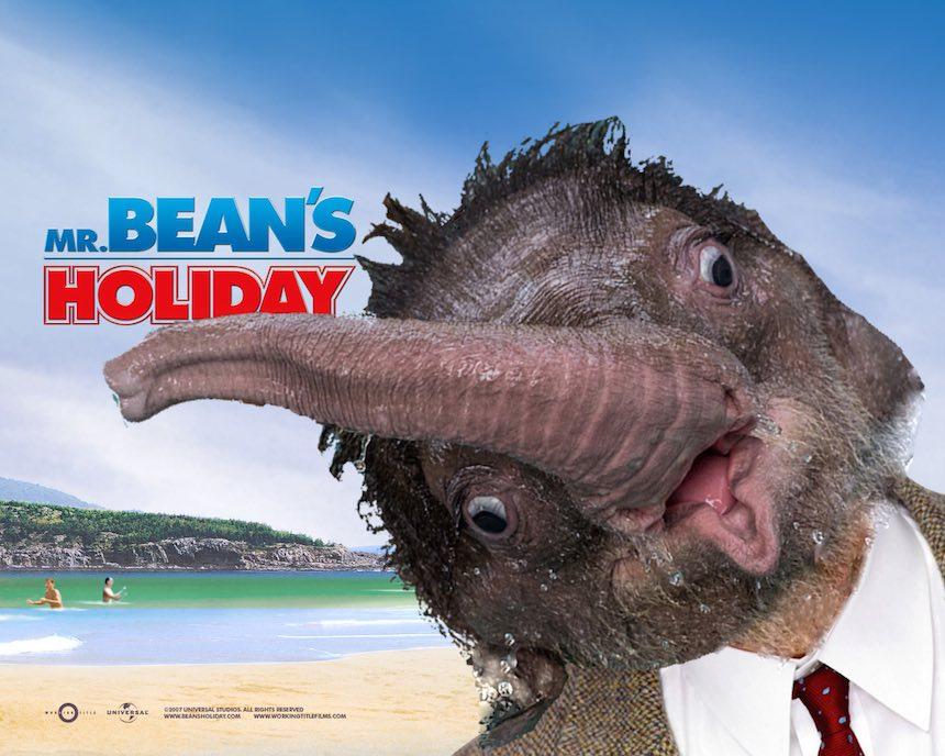 Elefante bebé - Mr. Bean