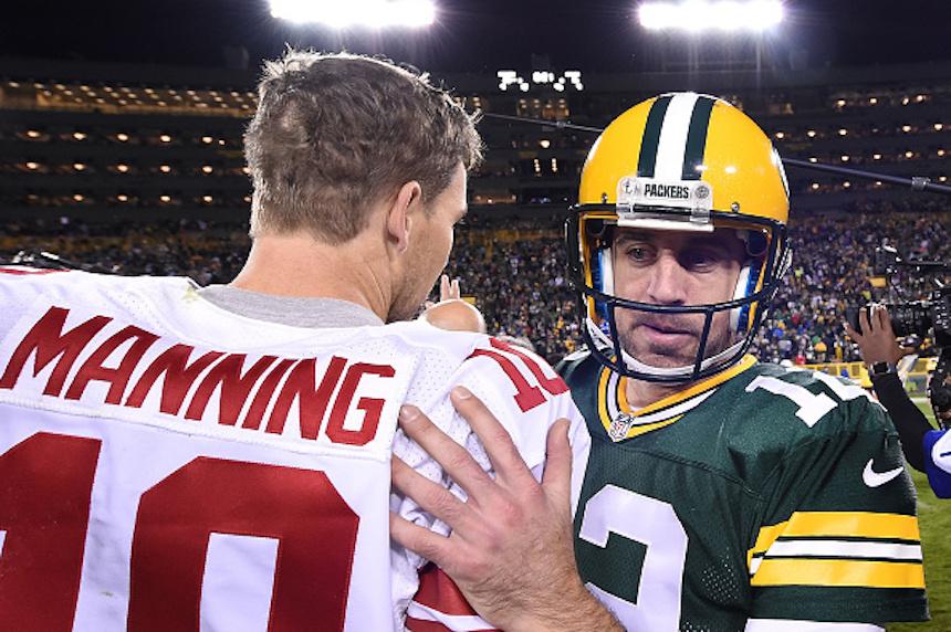 Green Bay Packers v New York Giants