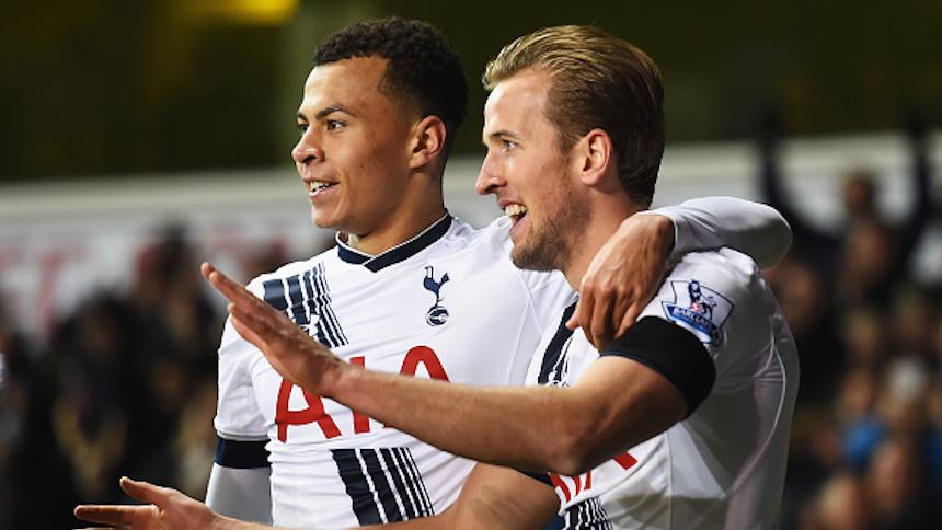 Harry Kane y Delle Ali: la dupla que buscaba el Tottenham