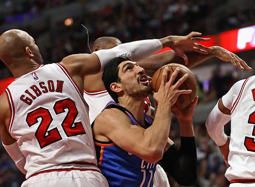 Oklahoma City Thunder v Chicago Bulls
