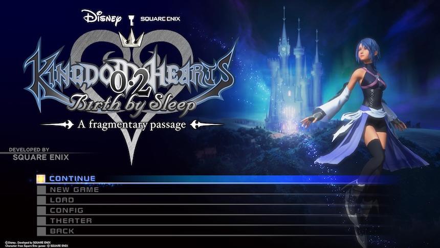 Kingdom Hearts 0.8 Birth by Sleep: A fragmentary passage
