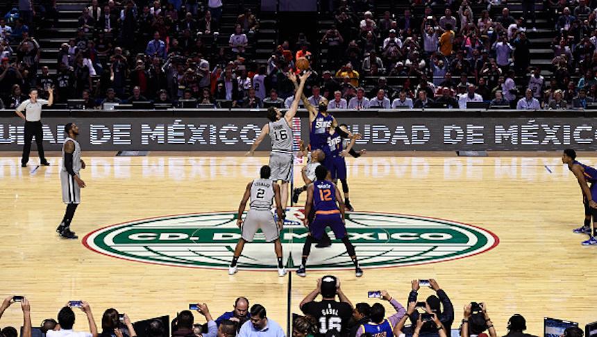 Imperdible: las mejores fotos de la NBA en México