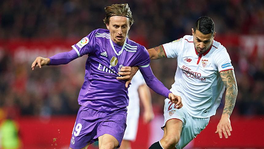 ¡Se acabó el invicto! Sevilla le ganó al Real Madrid