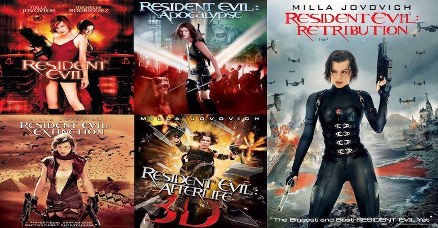 Resident Evil películas