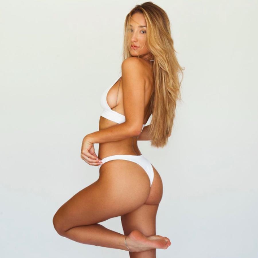 La increíble figura de Savannah Montano