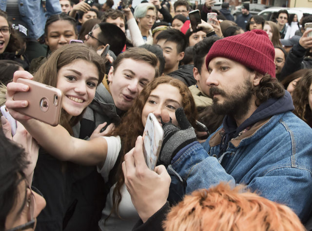 Pictured: Shia LaBeouf FameFlynet