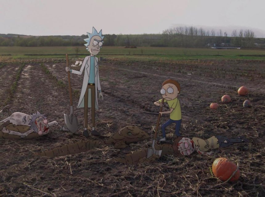 Rick y Morty en el mundo real