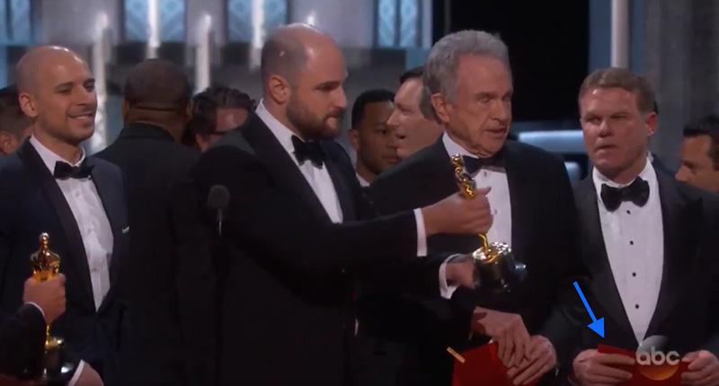 Error Oscar Warren Beatty
