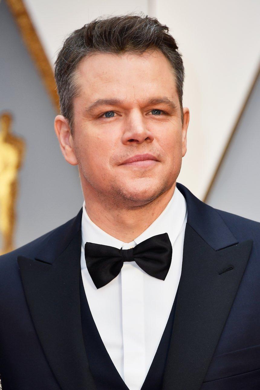 Matt Damon - Alfombra roja