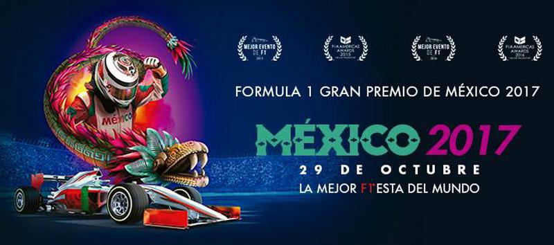 ¡Esto costarán los boletos del Gran Premio de México 2017!