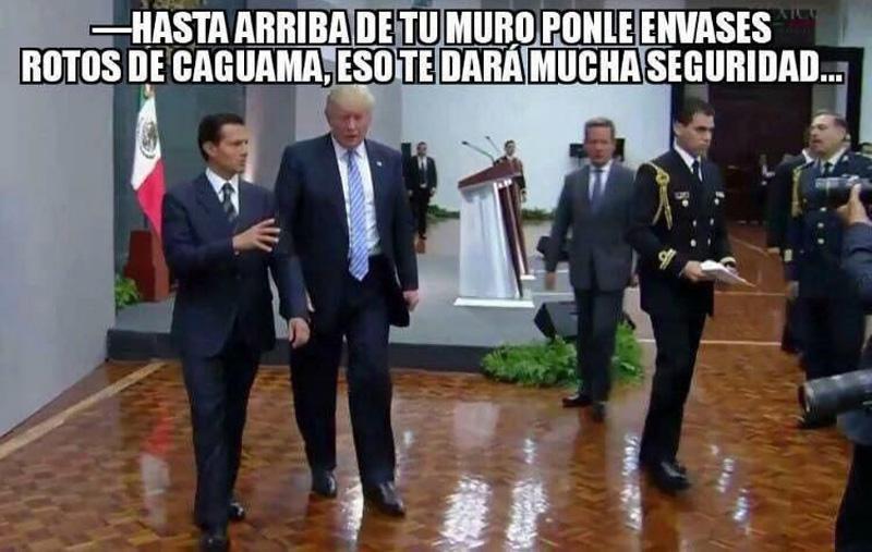 Meme Muro Caguamas