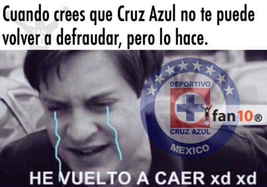 Porque es Cruz Azul, los memes después de perder contra ...