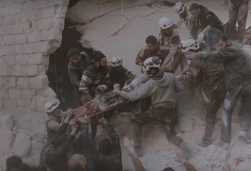 Escena - White Helmets