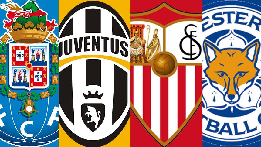 8vos de la Champions League: Porto vs Juventus y Sevilla vs Leicester en vivo