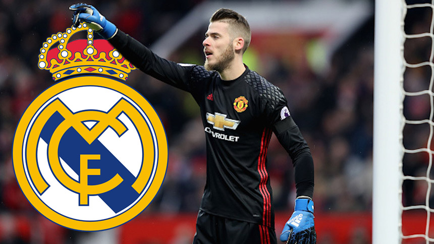 de gea real madrid